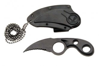 Hawk Blade Necklace Knife
