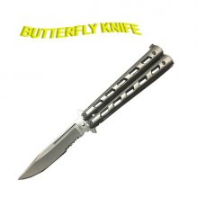 Nickel Butterfly Knife