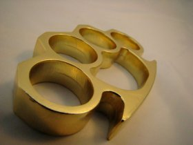 Classic Brass Knuckles