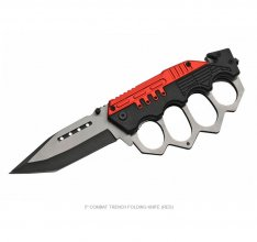 First Responder's Trench Knife - RED