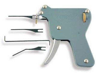 """Snap\"" Lock Pick Gun and Picks"