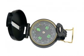 Official Liquid Lensatic Military Compass