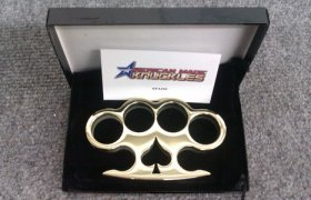 'Spade' - Custom Made Brass Knuckles