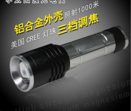 On Duty Patrol Flashlight - Rechargeable