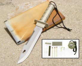 Urban Desert Survival Knife