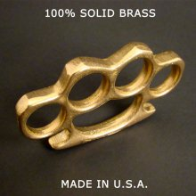 Patriot™ Brass Knuckles - 100% - Made In USA