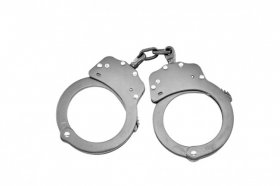 Standard Police Handcuffs - Stainless Steel