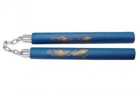 Blue Dragon Nunchaku (Chain)
