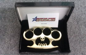 'Hellfire' Custom Brass Knuckles