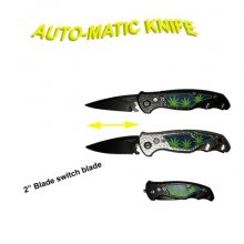 Mini Pot Leaf Automatic Knife