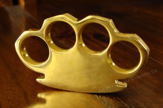 """BLANK\"" Engravable Brass Knuckles"