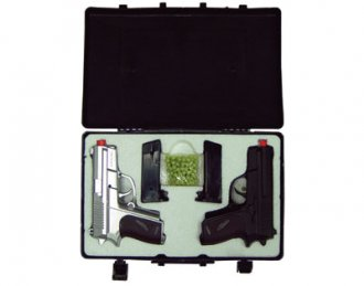2 Pistol Kit - Air Soft Guns