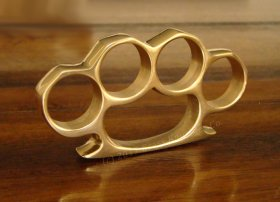 The Original Brass Knuckles - 100% PURE