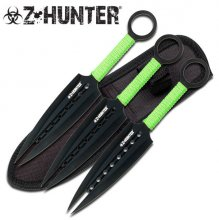 Zombie Throwing Knives - Set of 3
