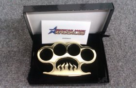 'Inferno' - Custom Made Brass Knuckles