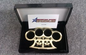 'Slayer' Custom Brass Knuckles