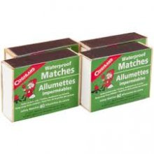 Coghlan's Waterproof Matches 4 pack