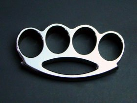 "Wide-Top ""Midnight Chrome"" Knuckles - MEDIUM"