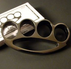 Wide Top Brass Knuckles - LARGE