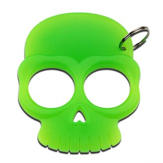 Skull Punch Key Chain - Green
