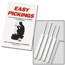 Lock Pick Set - Five Piece
