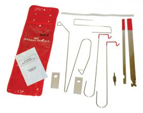 Universal Auto Lockout Kit - 9 Piece