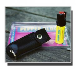 Pepper Spray Keychain - Hard Case