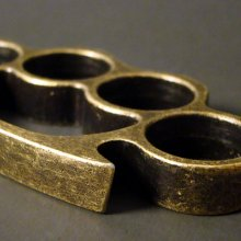 Classic Brass Knuckles - Antique Finish