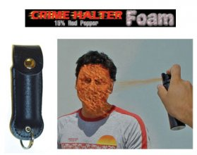 Crime Halter Pepper Foam