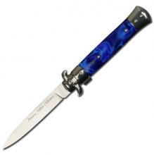 Chrome Handmade Milano Stiletto - Blue Marble