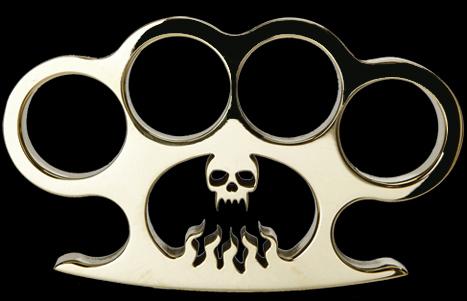 hellfire brass knuckles