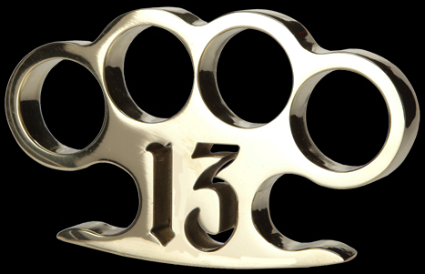 made in USA brass knuckles