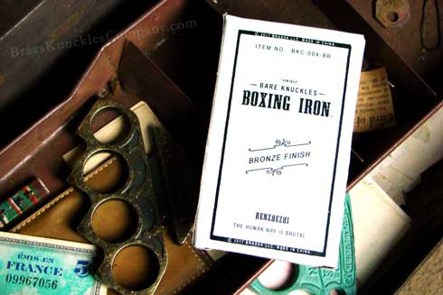 Bare Knuckles Boxing Iron - Vintage Bronze Finish