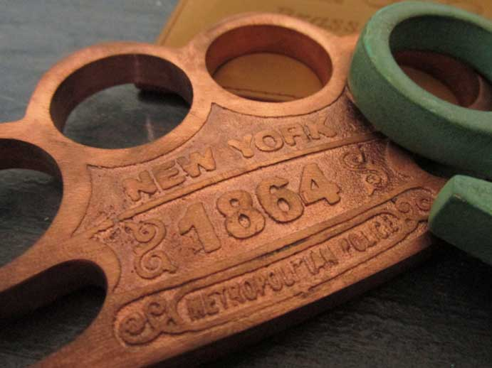 1864 New York Copper Knuckles