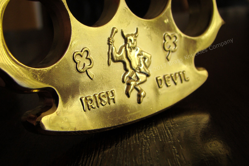 Robbie Dalton Irish Devil Brass Knuckles