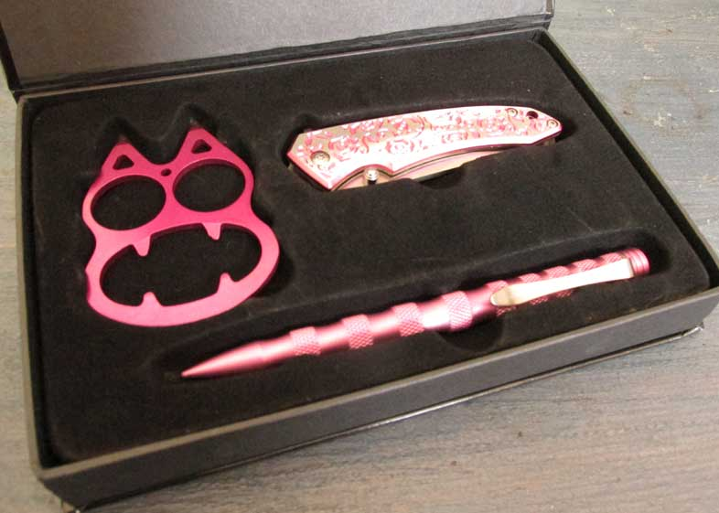 Pink Lady's Self Defense Gift Set