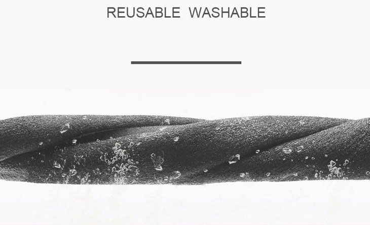 Wash and reuse daily.